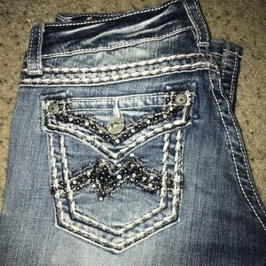 Gently used jeans